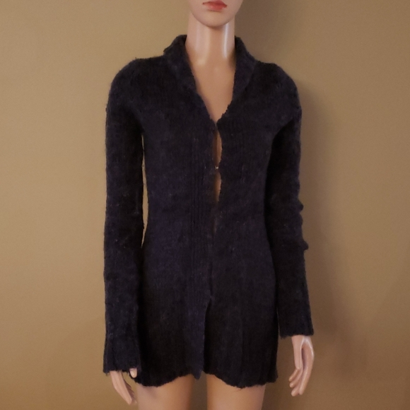 Free People Mohair Blend Cardigan size XS